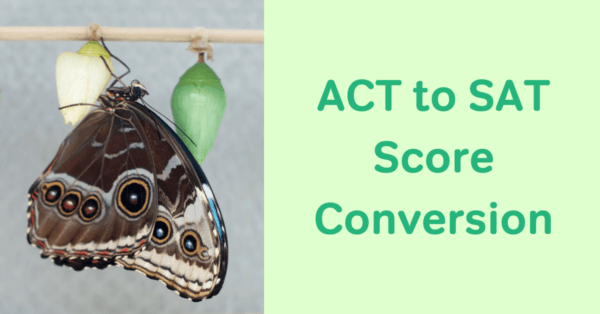ACT to SAT score conversion