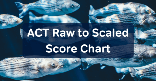 ACT raw to scaled score chart