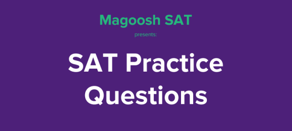 free sat questions