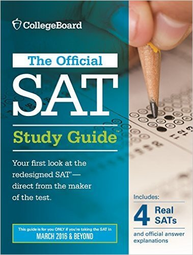 the official sat study guide 2016 edition