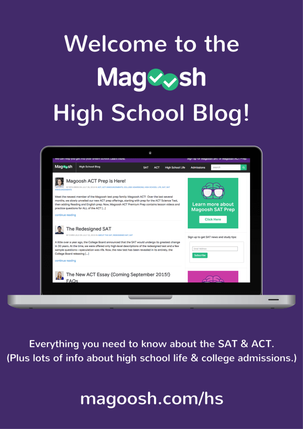 high school blog