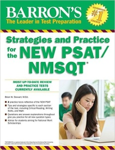 Barron's Strategies and Practice for the New PSAT - book review from Magoosh