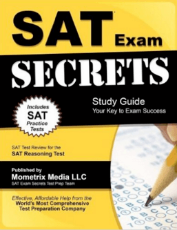 SAT Exam Secrets Study Guide - book review from magoosh