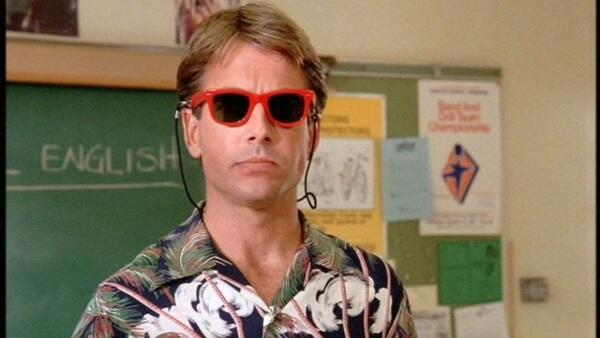 teacher with sunglasses on -magoosh