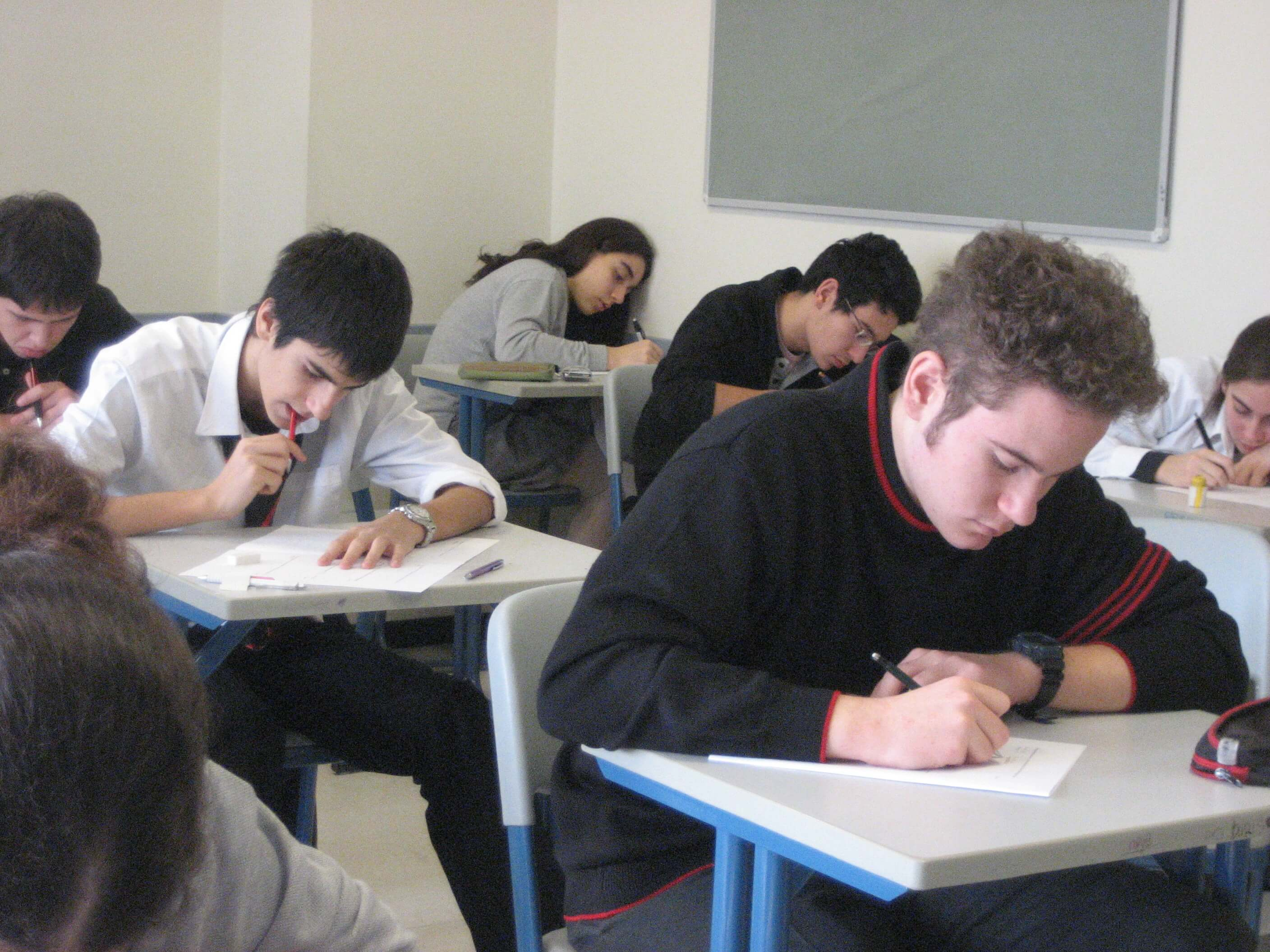students taking exam-magoosh