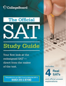Official SAT Study Guide for the New SAT- book review from Magoosh