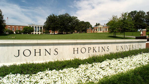 johns hopkins act scores