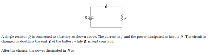 SAT Physics Circuit