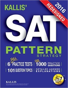 Kallis SAT Pattern Strategy - book review from Magoosh