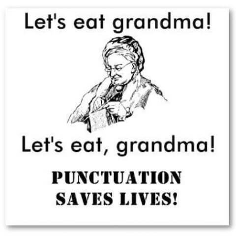 Punctuation Saves Lives SAt test prep app