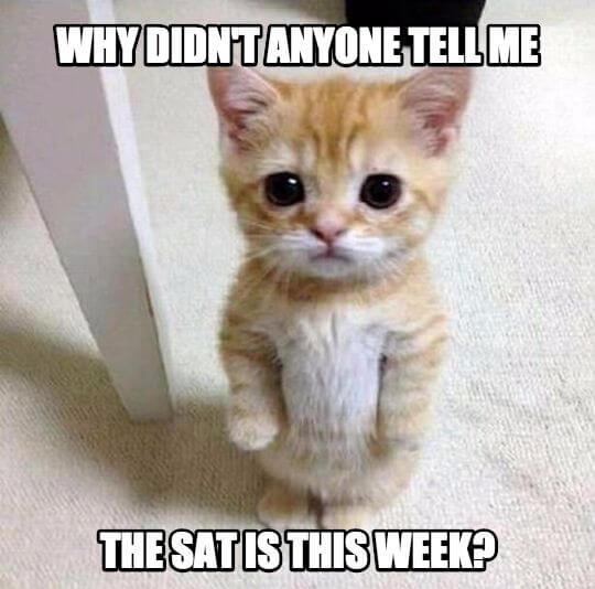 SAT test dates this week -Magoosh