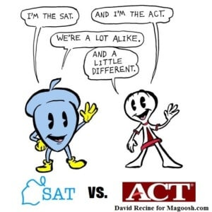 Image result for sat vs. act