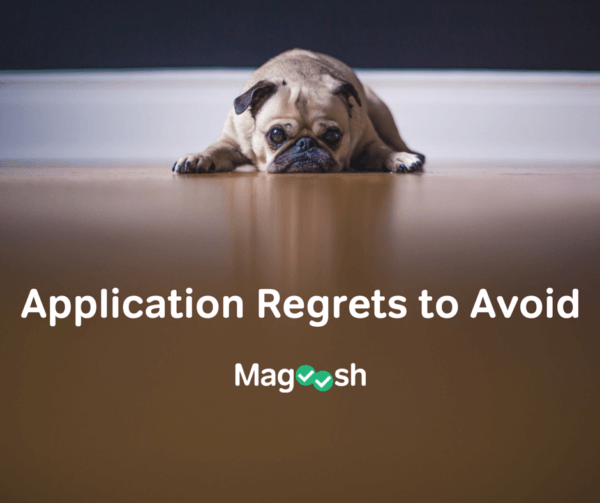 college application regrets to avoid