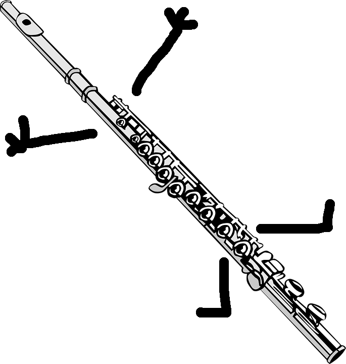Modifiers on the SAT Flute Personified