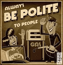 be polite to people
