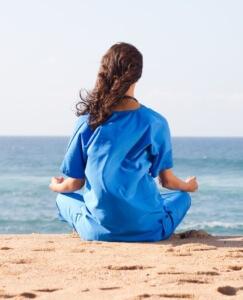 nurse-meditating-on-the-beach1