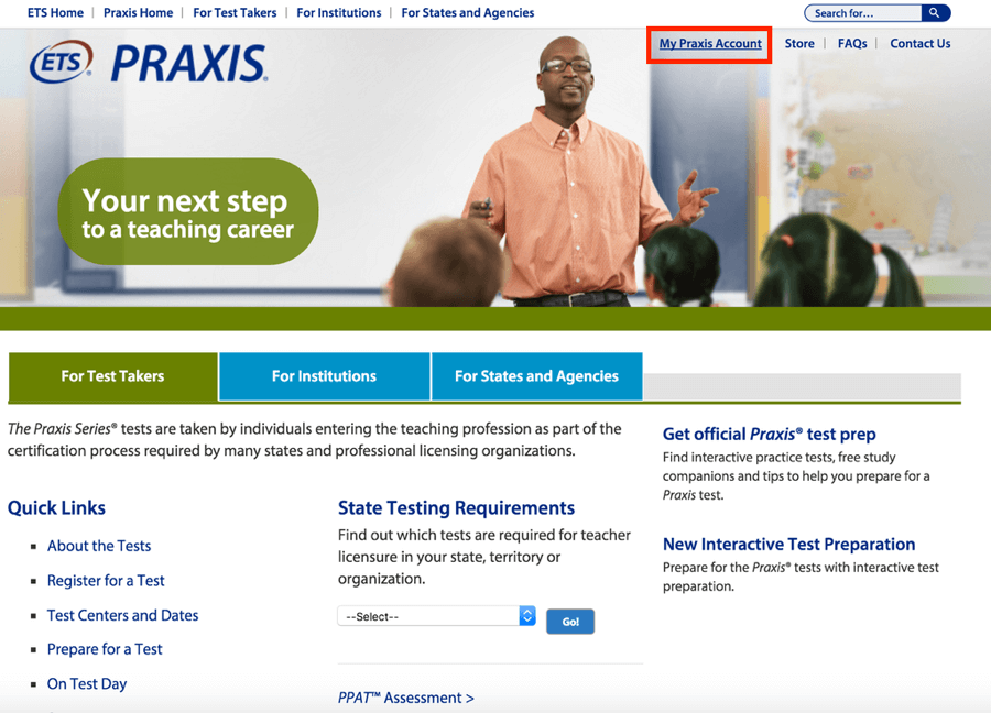 praxis-homepage-my-account-magoosh