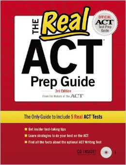 Real ACT Prep Guide 3rd Edition Cover