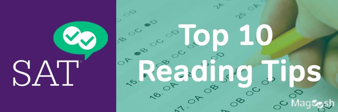 SAT Reading Tips -magoosh