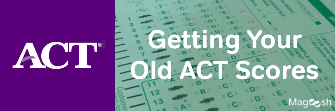 old ACT scores -magoosh