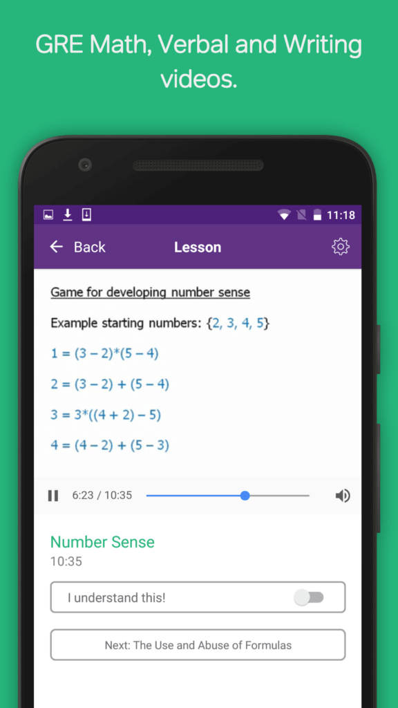 gre-app-screenshot-1