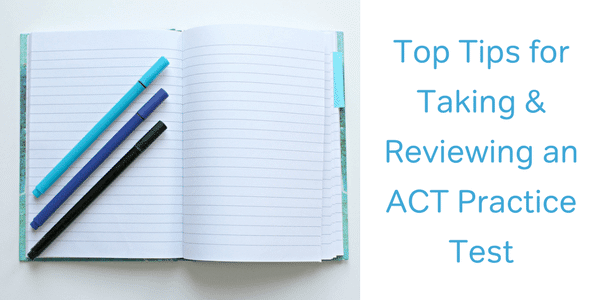 tips for taking an act practice test