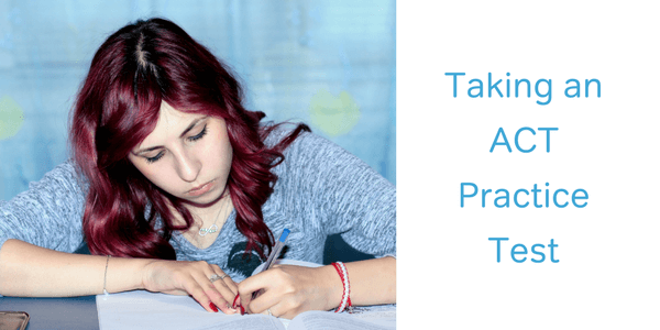 how to take an act practice test