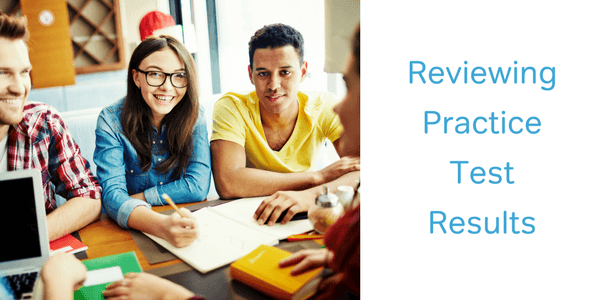 how to review an act practice test