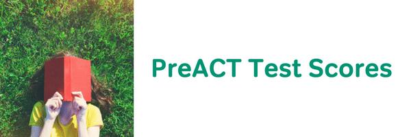 preact test scores