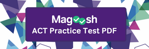 ACT Practice Test Pdf Header Image