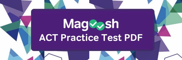 ACT practice test pdf