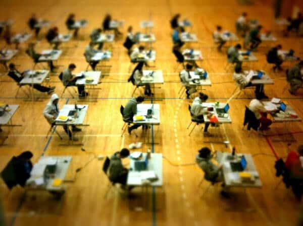 The Exam. Photo by bitjingle