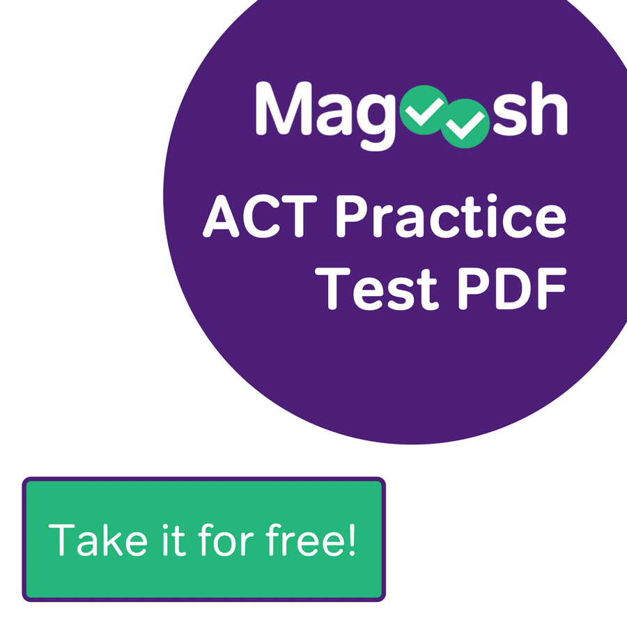 ACT Practice Test Widget