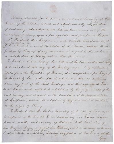 compromise of 1850 apush