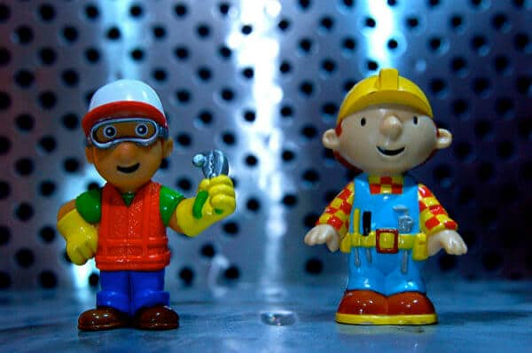 Handy Manny and Bob the Builder