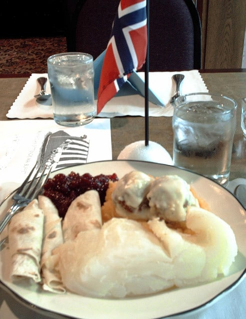 lutefisk for breakfast