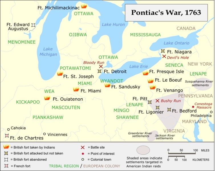 Pontiac's Rebellion APUSH -Magoosh