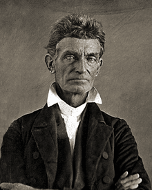 Portrait of John Brown-Bleeding Kansas APUSH-magoosh