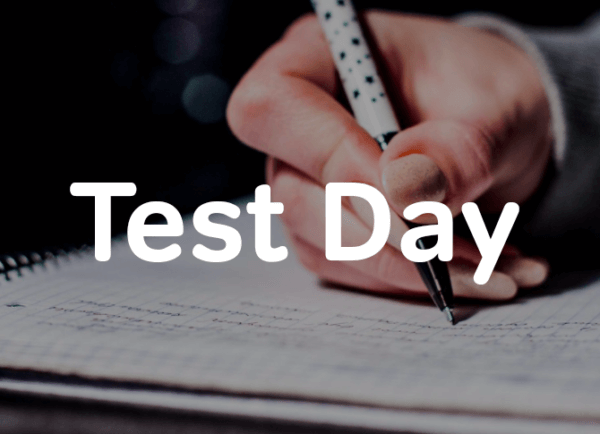 Test Day of the two month SAT study schedule-magoosh