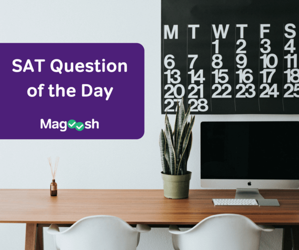 Calendar-SAT Question of the Day-magoosh