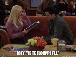 Joey and Phoebe reading lines in Friends - sat reading practice - magoosh