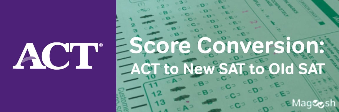 act to sat scores -magoosh