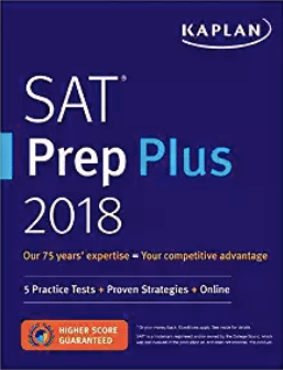 Kaplan SAT Prep Plus - Magoosh review of the best SAT books