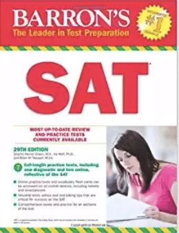 Barrons SAT 29th Edition - Magoosh review of the best SAT books