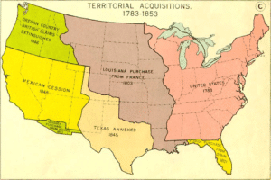 US map - APUSH themes expansion-magoosh