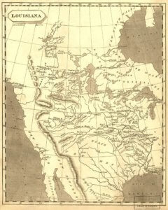 Louisiana territory map - APUSH themes expansion-magoosh