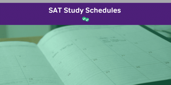 Magoosh SAT Resources - Study Schedules