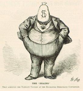 Depiction of William Tweed - APUSH Themes: Party Politics-magoosh