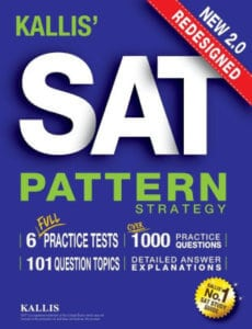Kallis Redesigned SAT Pattern Strategy - review of the best SAT books by Magoosh