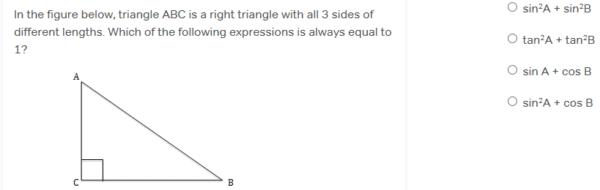 Example SAT Math trigonometry question - magoosh